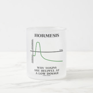 Hormesis Why Toxins Are Helpful At A Low Dosage Frosted Glass Mug