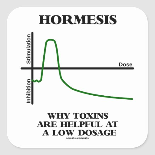 Hormesis Why Toxins Are Helpful At A Low Dosage Sticker