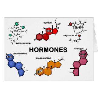 Hormones Greeting Card