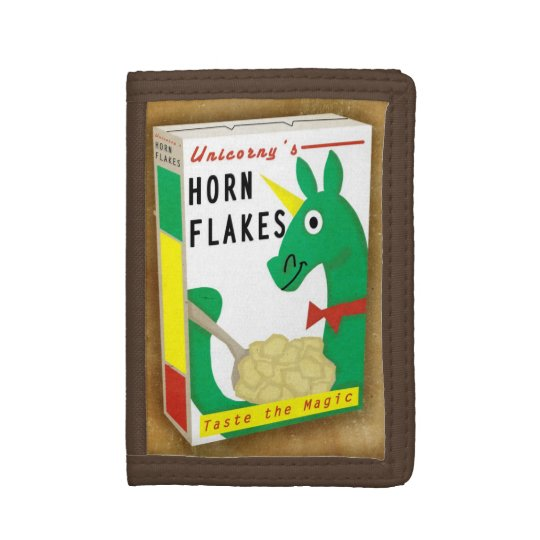Horn Flakes Cereal Tri-fold Wallet