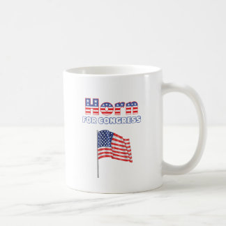 Horn for Congress Patriotic American Flag Design Coffee Mugs