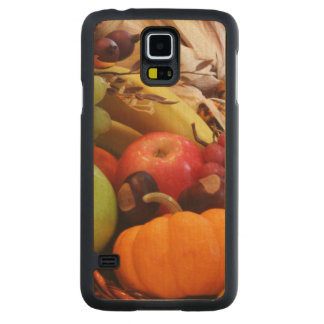 Horn Of Plenty Carved Maple Galaxy S5 Case