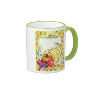 Horn Of Plenty Coffee Mugs