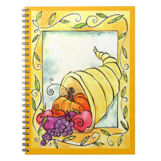 Horn Of Plenty Note Book