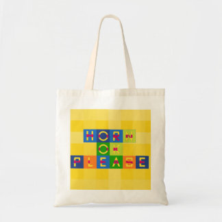 horn ok please tote bag