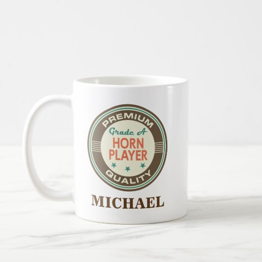 Horn player Personalised Office Mug Gift