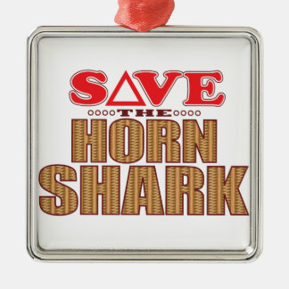 Horn Shark Save Christmas Ornament