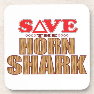 Horn Shark Save Coaster