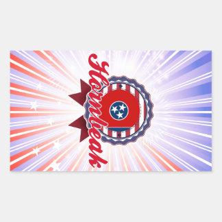 Hornbeak, TN Rectangle Stickers