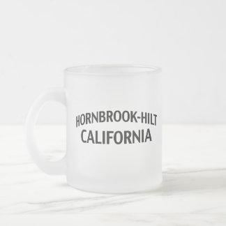 Hornbrook-Hilt California Frosted Glass Mug