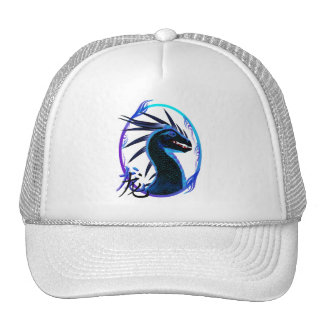Horned Black Dragon and Symbol Hats