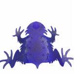 Horned Frog Purple Photo Sculpture