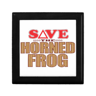 Horned Frog Save Gift Box
