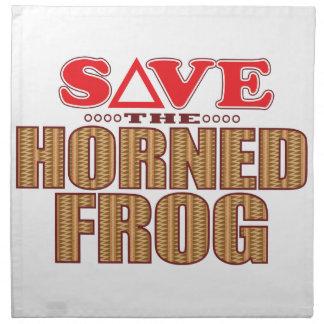 Horned Frog Save Napkin