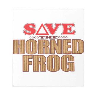 Horned Frog Save Notepad