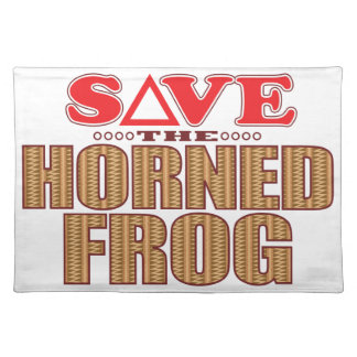 Horned Frog Save Placemat