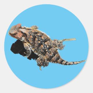 Horned Lizard Sticker
