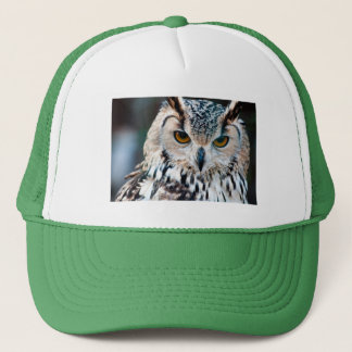 Horned Owl Bird Nature Wildlife Trucker Hat