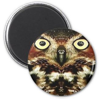 Horned Owl Magnet