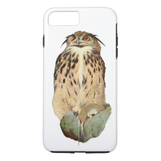 Horned Owl with Prey iPhone 7 Plus Case
