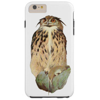 Horned Owl with Prey Tough iPhone 6 Plus Case
