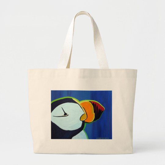 Horned Puffin bag