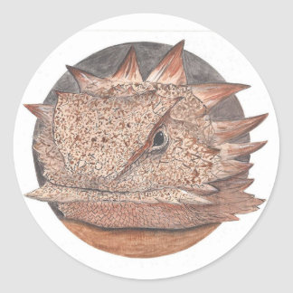 Horned Toad Sticker