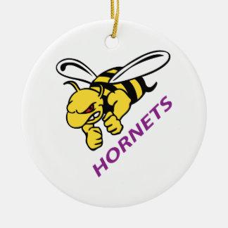 HORNETS CHRISTMAS ORNAMENT