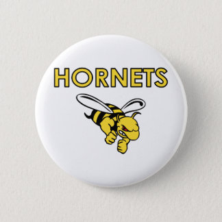 HORNETS FULL CHEST 6 CM ROUND BADGE