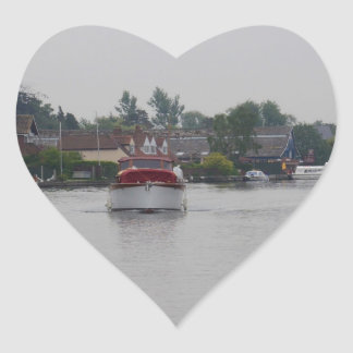 Horning On The River Bure Stickers