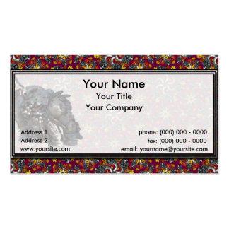 Horns of Plenty RIH  Sm Any Color Business Card