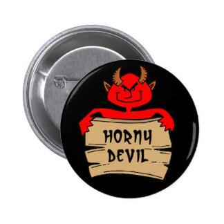 Horny Devil Button