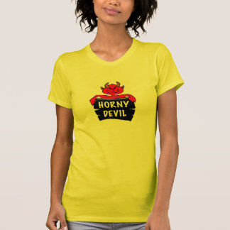 Horny Devil Halloween Tee Shirt