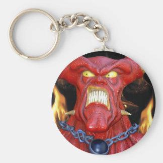 Horny Devil Man Key Ring
