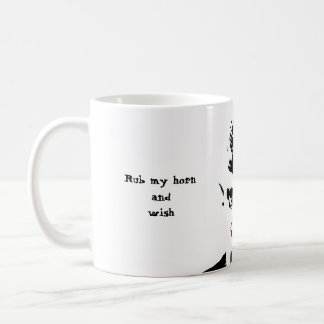 Horny Devil      Mug Rub my horn and wish