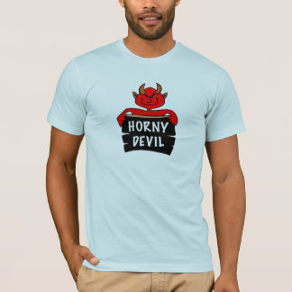 Horny Devil T-shirt Fitted