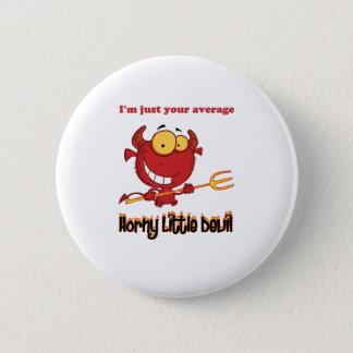 Horny Little Devil 6 Cm Round Badge