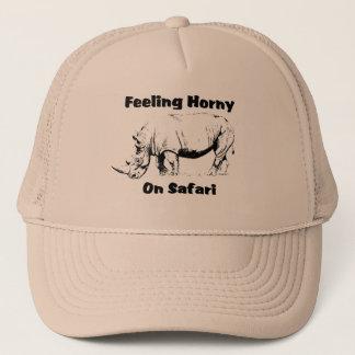 Horny Rhino Safari Cap