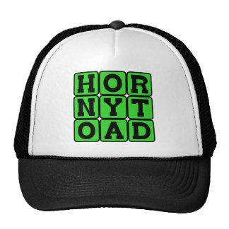 Horny Toad Amphibian Mesh Hat