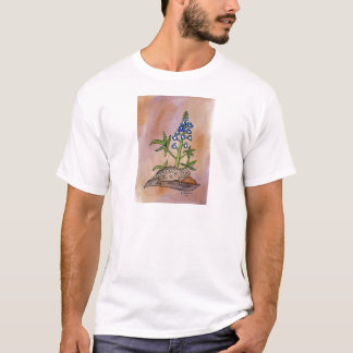 Horny Toad with Bluebonnet T-Shirt