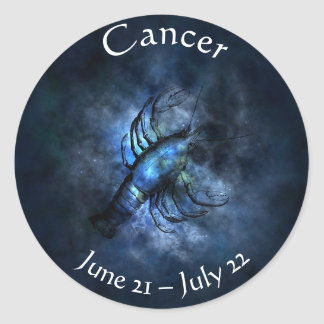 Horoscope Cancer Kodiac Astrology Crab Sticker