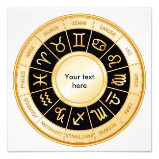Horoscope Mandala Art Photo