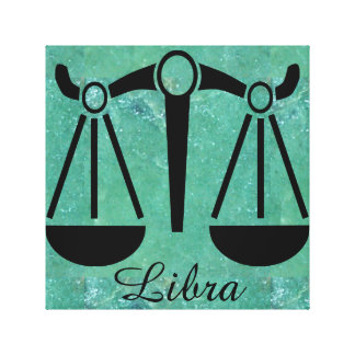 Horoscope Scale Symbol for Libra Jade Wall Art