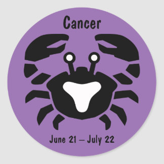 Horoscope Sign Cancer Crab Symbol Sticker