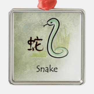 HOROSCOPE SNAKE CHRISTMAS ORNAMENT