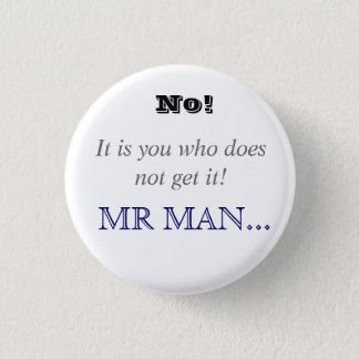 Horrible Histories Mr Man 3 Cm Round Badge