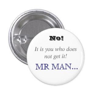 Horrible Histories Mr Man 3 Cm Round Badge