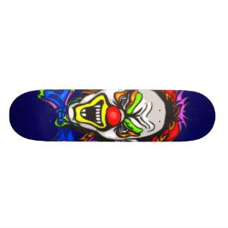 Horrid Evil Clown Skate Board