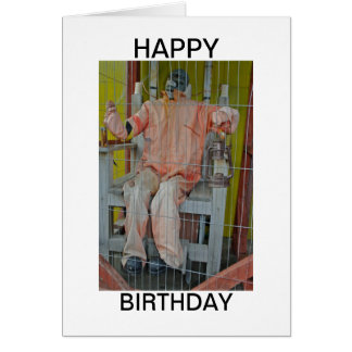 Horror Characters Happy Birthday Card