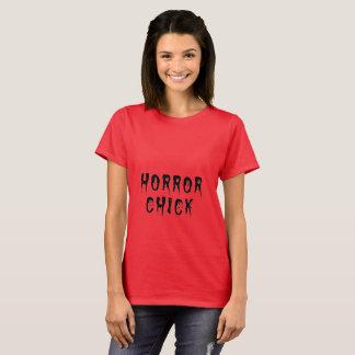 Horror chick tee